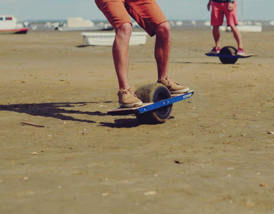 Photo Onewheel à la plage