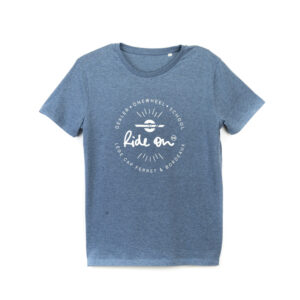 T-shirt bleu Ride On