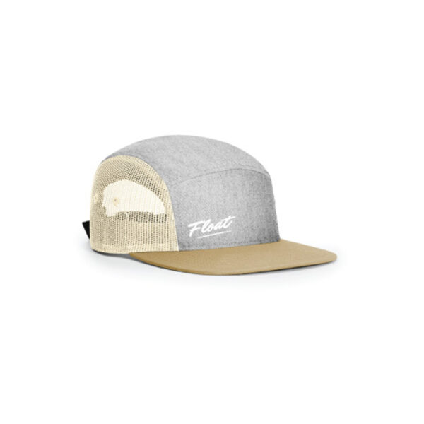 Casquette-Float-Life gris biscuit
